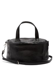 Balenciaga Air Hobo Small Leather Tote Black