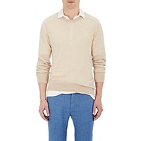 Massimo Alba Men's Cashmere Sweatshirt White