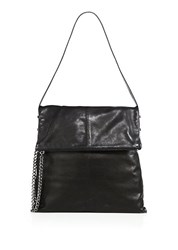 Botkier Irving Leather Hobo Bag Black