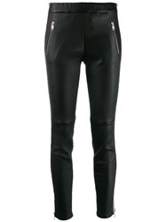 Alexander Mcqueen Side Stripe Leggings Black