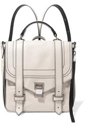 Proenza Schouler Ps1 Textured Leather Backpack Cream