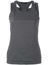 Rundholz Double Layer Tank Top Grey