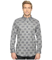 Pendleton Mill Shirt Blue Block Men's Clothing Gray