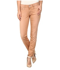 Mavi Jeans Emma Slim Boyfriend In Tan Vintage Tan Vintage Women's Jeans Brown