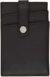 Want Les Essentiels Black Money Clip Card Holder
