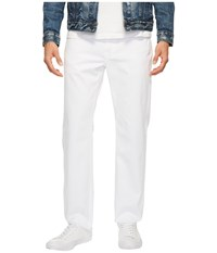 Agave Classic Straight Rincon Twill In White White Men's Clothing