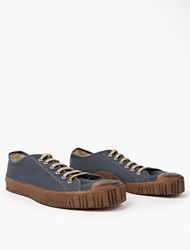 Spalwart Grey Canvas Special Low Sneakers