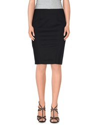 Pinko Black Skirts Knee Length Skirts Women
