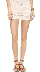 Blank Distressed Cuffed Shorts Ditz
