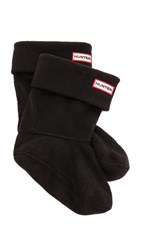 Hunter Boots Short Boot Socks Black