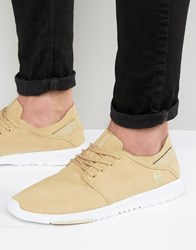 Etnies Scout Trainers Beige