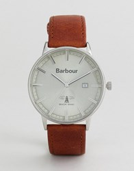 Barbour Whitburn Watch With Tan Strap
