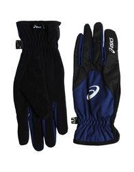 Asics Gloves Dark Blue