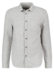 Kiomi Shirt Light Grey Melange Mottled Light Grey