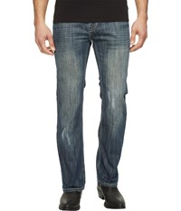 Rock And Roll Cowboy Pistol Bootcut In Dark Vintage M0p1449 Dark Vintage Men's Jeans Navy