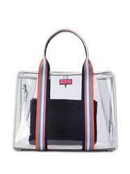 Kate Spade Transparent Tote Bag White