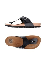 Gioseppo Footwear Toe Post Sandals Black