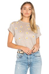 Banner Day California Poppies Tee Taupe