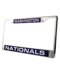 Rico Industries Washington Nationals Laser License Plate Frame Team Color