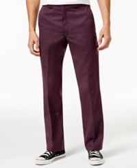Dickies Men's 874 Original Classic Fit Work Pants Maroon