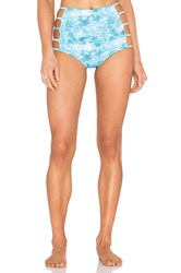 Triya High Waisted Bottom Blue