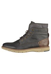 Mustang Laceup Boots Graphit Grey