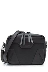 Rag And Bone Leather Shoulder Bag Black