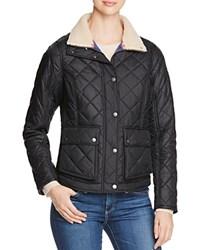 Barbour Cushat Quilted Jacket Navy