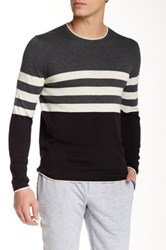 Parke And Ronen Killy Long Sleeve Crew Neck Sweater Gray