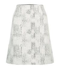 Reiss Vivienne Jacquard Skirt Female Black