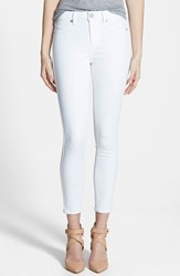 Paige Women's Denim 'Hoxton' Ankle Skinny Jeans Ultra White