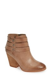 Isola Levina Bootie Light Taupe Leather