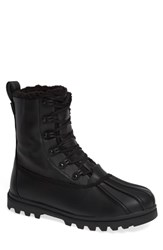 Native Jimmy Treklite Water Repellent Boot With Faux Shearling Liner Jiffy Black Jiffy Black