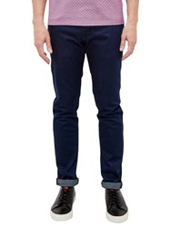 Ted Baker T For Tall Side Straight Fit Jeans Rinse Denim