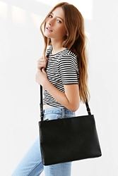 Silence And Noise Silence Noise Double Zip Shoulder Bag Black