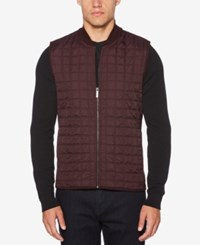 Perry Ellis Quilted Vest Port