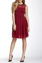 Weston Wear Lauralyn Sleeveless Dress Red