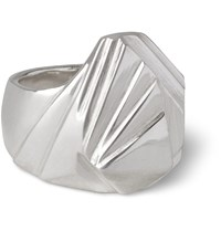 James Tanner Sterling Silver Signet Ring