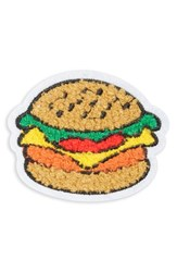 Cara Women's Hamburger Patch Brooch