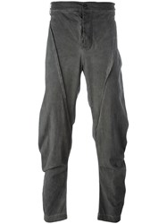 Lost And Found Rooms Five Pocket Trousers Grey