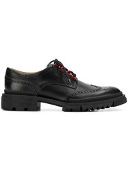 Versace Lace Up Brogues Black