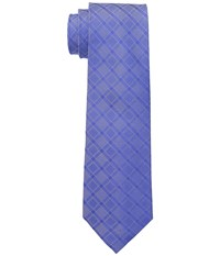 Dkny Grid Medium Blue Ties
