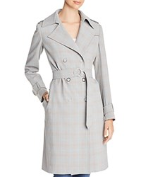 T Tahari Uraina Trench Coat Gray
