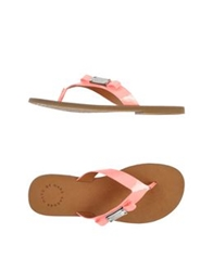 Marc By Marc Jacobs Thong Sandals Light Purple
