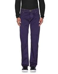 Re Hash Trousers Casual Trousers Men Purple