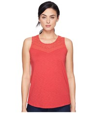 Aventura Clothing Pilar Tank Top Cardinal Women's Sleeveless Red
