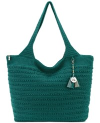 The Sak Palm Springs Crochet Tote A Macy's Exclusive Style Azure