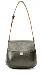 Wgaca Louis Vuitton Vernis Webster Bag Previously Owned Grey