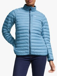 Haglofs Essens Mimic 'S Insulated Quilted Jacket Silver Blue Dense Blue