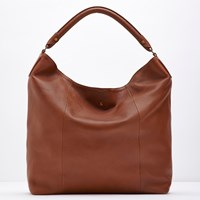 Joules Hampstead Leather Shoulder Bag Tan